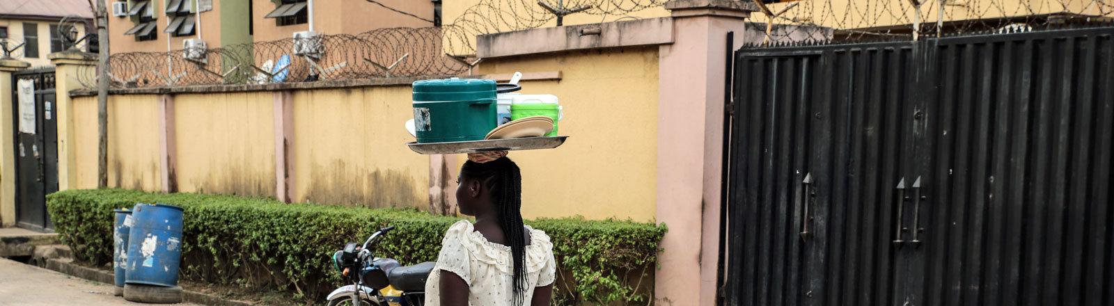 Frau in Nigeria