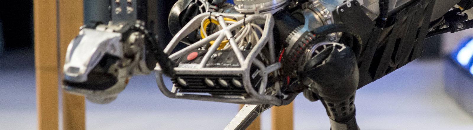 Der Roboter SpotMini von Boston Dynamics