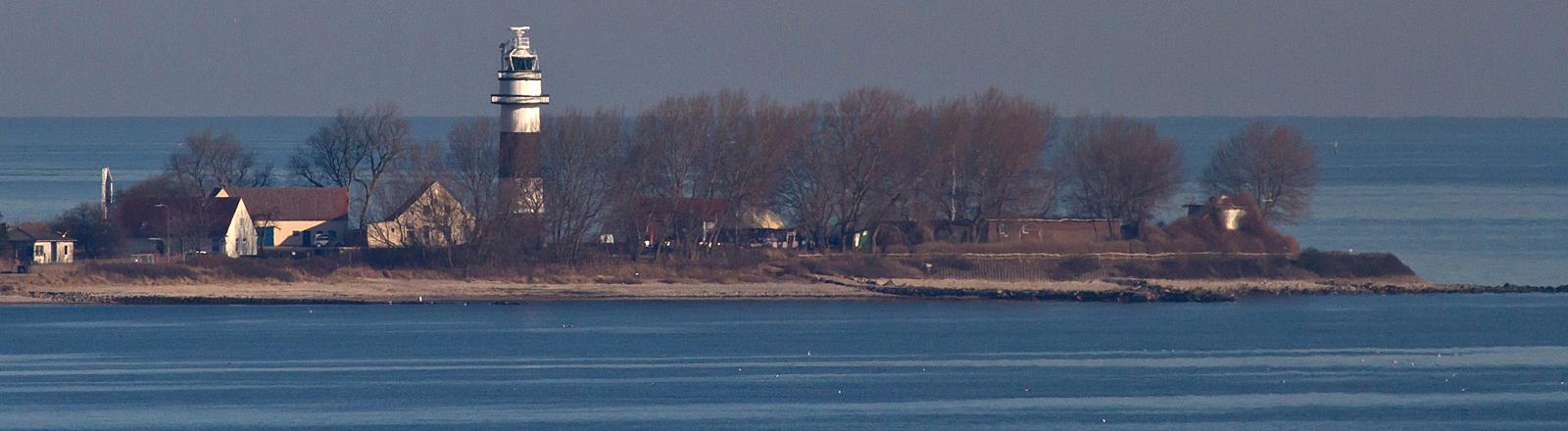Bülker Leuchtturm an Kieler Förde