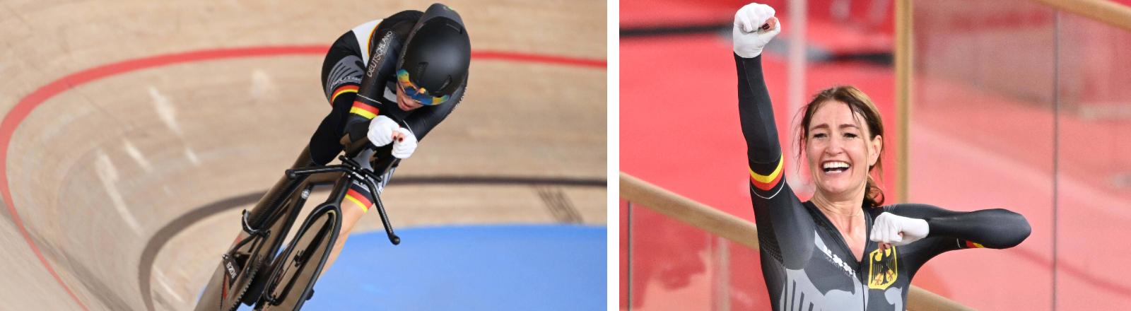 Radsportlerin Denise Schindler gewinnt bei den Paralympics in Tokio Bronze.