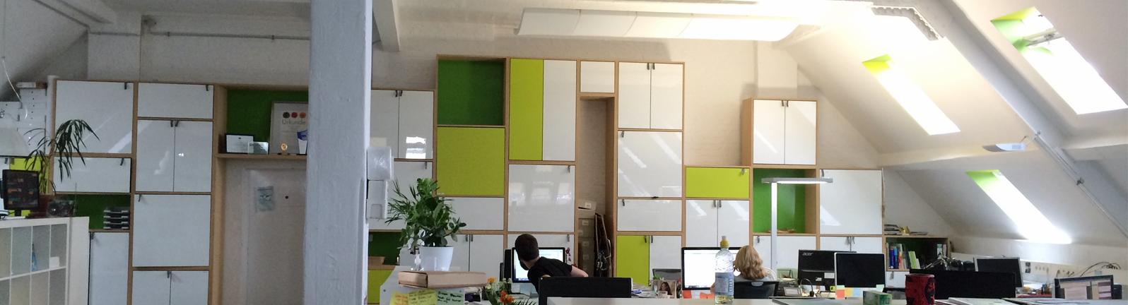 Das Büro von Betterplace Lab