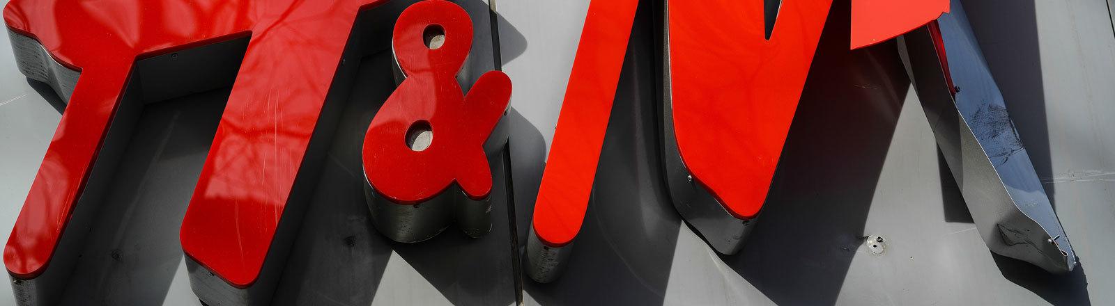 H&M Logo, das kaputt ist