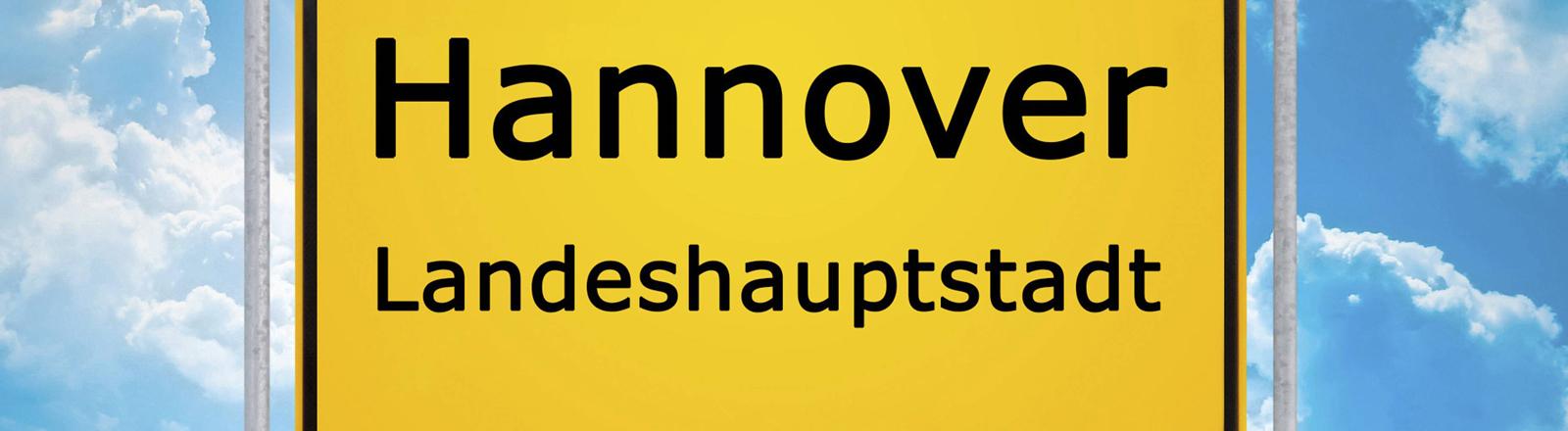 Hannover Straßenschild