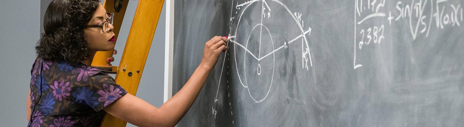 Schwarze Mathematikerin