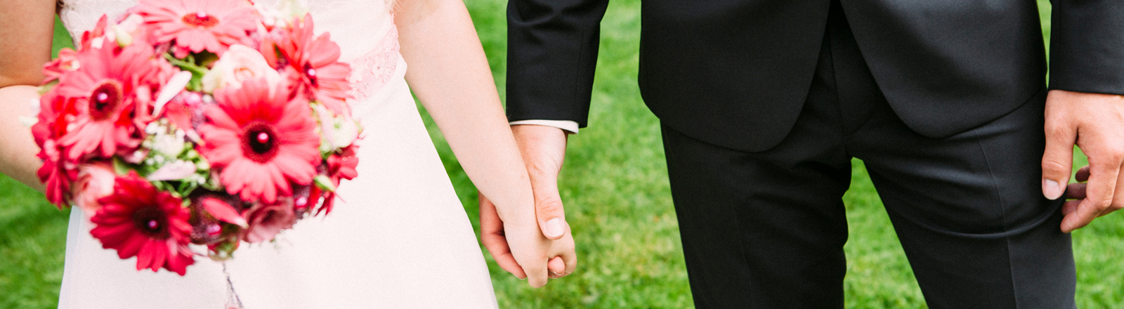 Ein Hochzeitspaar