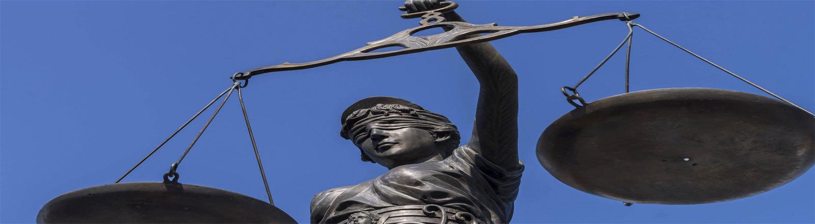 Justitia Figur Bayern