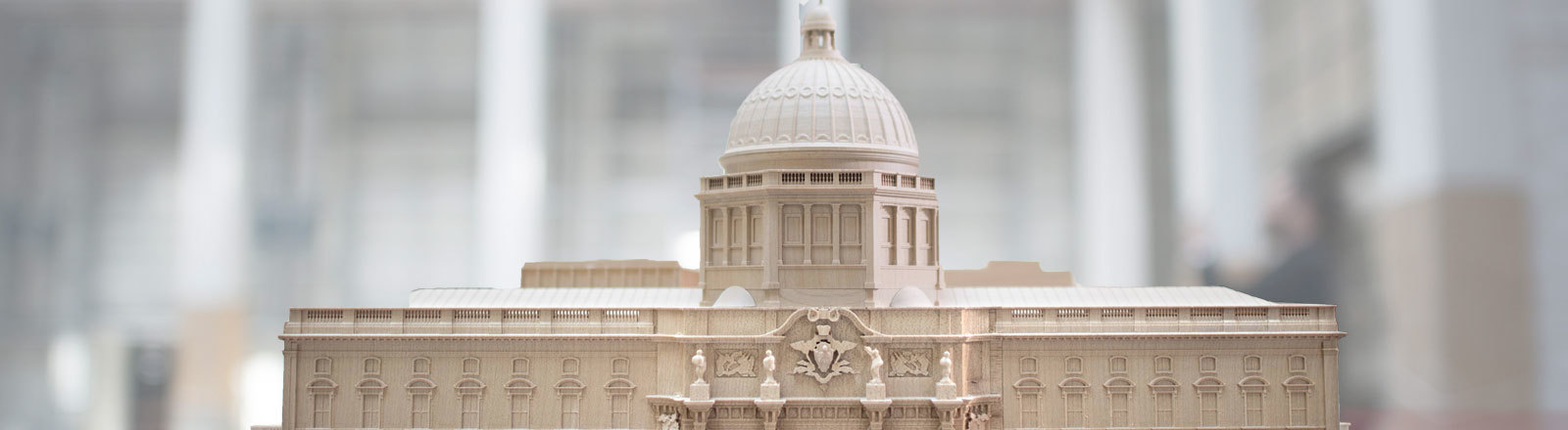 Modell des Berliner Schlosses