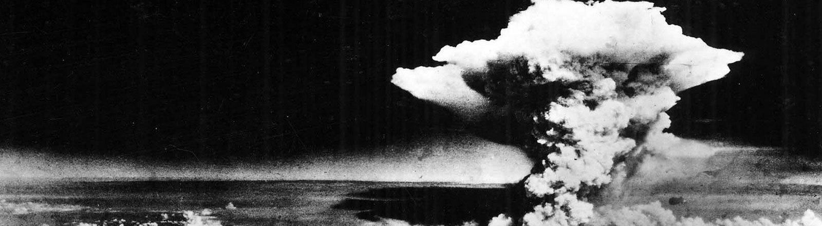 Atombombenexplosion Hiroshima 1945