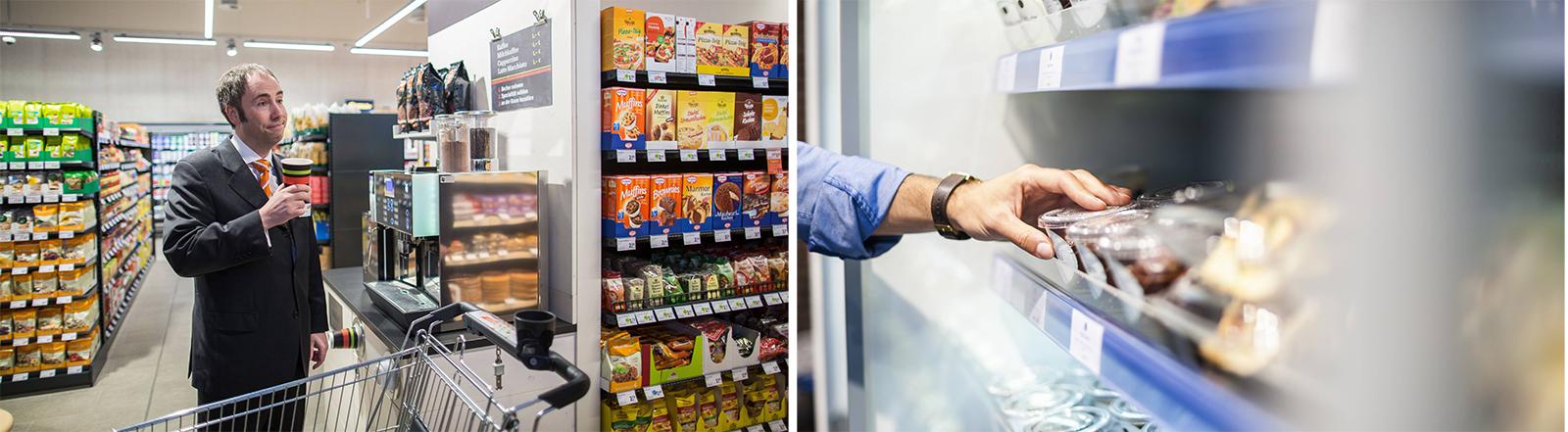 Alles direkt zum Mitnehmen: Convenience im Supermarkt