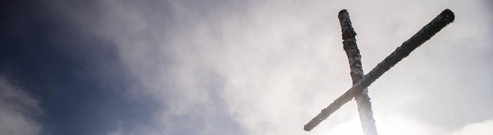 Gipfelkreuz auf dem Kisslegg