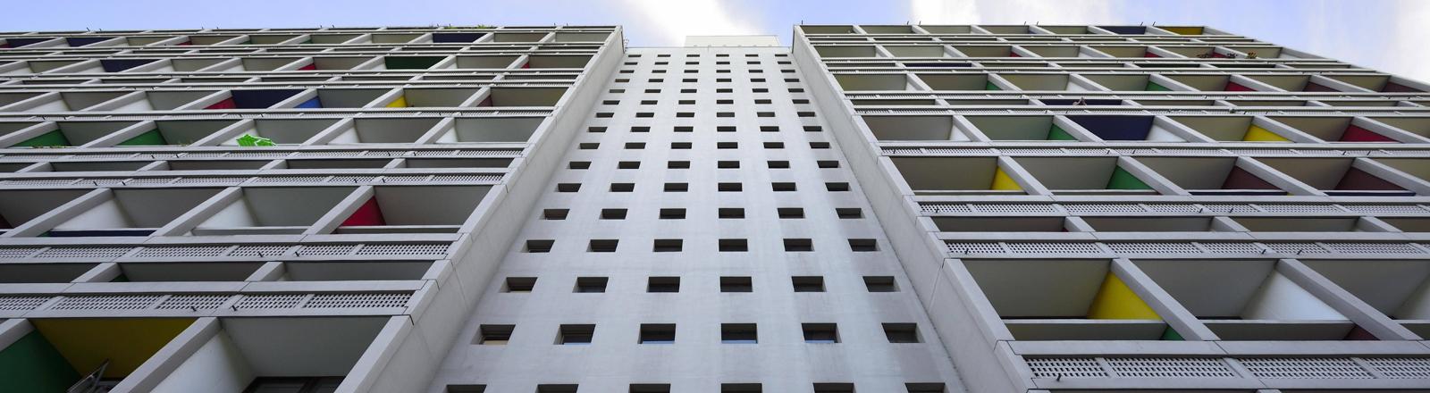 Wohnmaschine des Architekten Le Corbusier in Briey