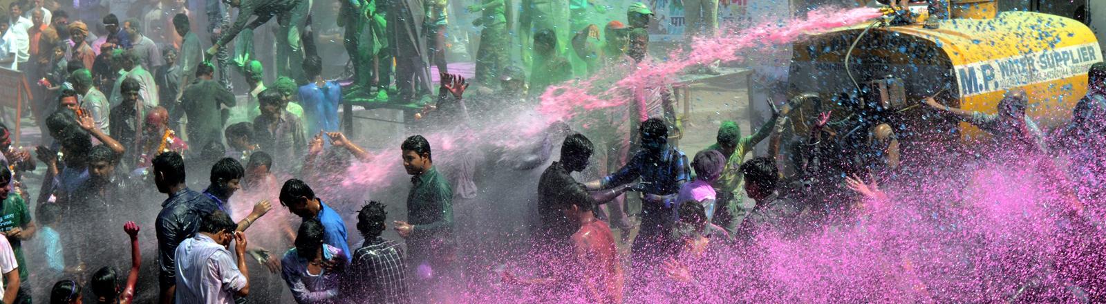 Holi Festival in Bhopal
