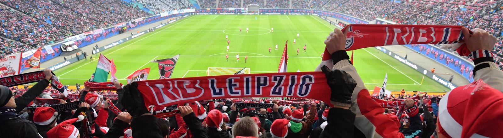 Stadion in Leipzig