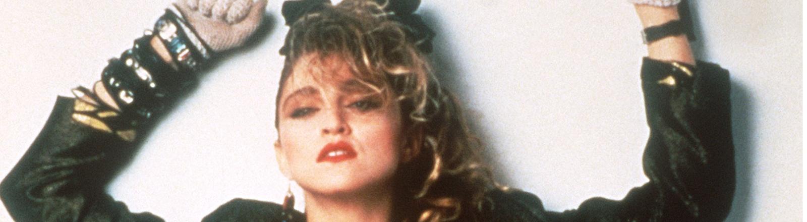 """US-amerikanische Sängerin (""""Like a Virgin""""), aufgenommen 1985."""