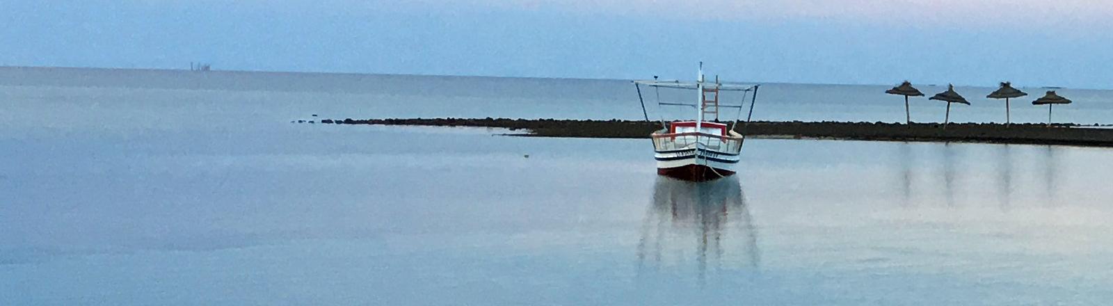 Schiff vor Kerkennah