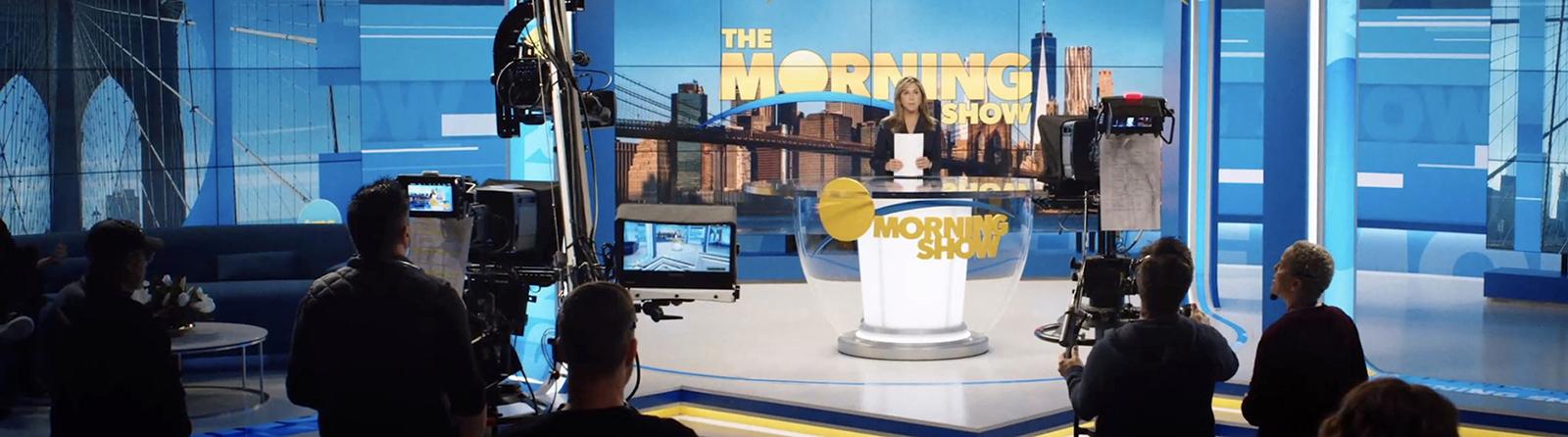 """Szene aus der Serie """"The Morning Show"""""""