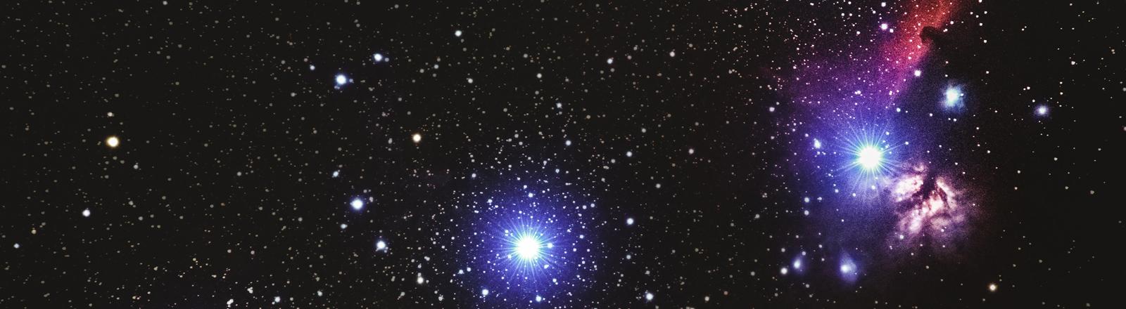 Sterne am Nachtimmel