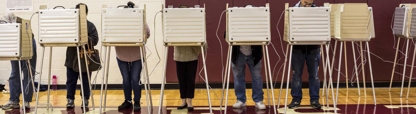 Wahl in Michigan