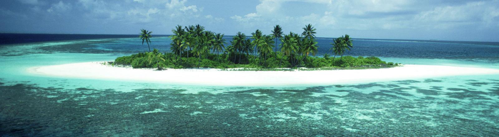 Ein Insel in der Südsee