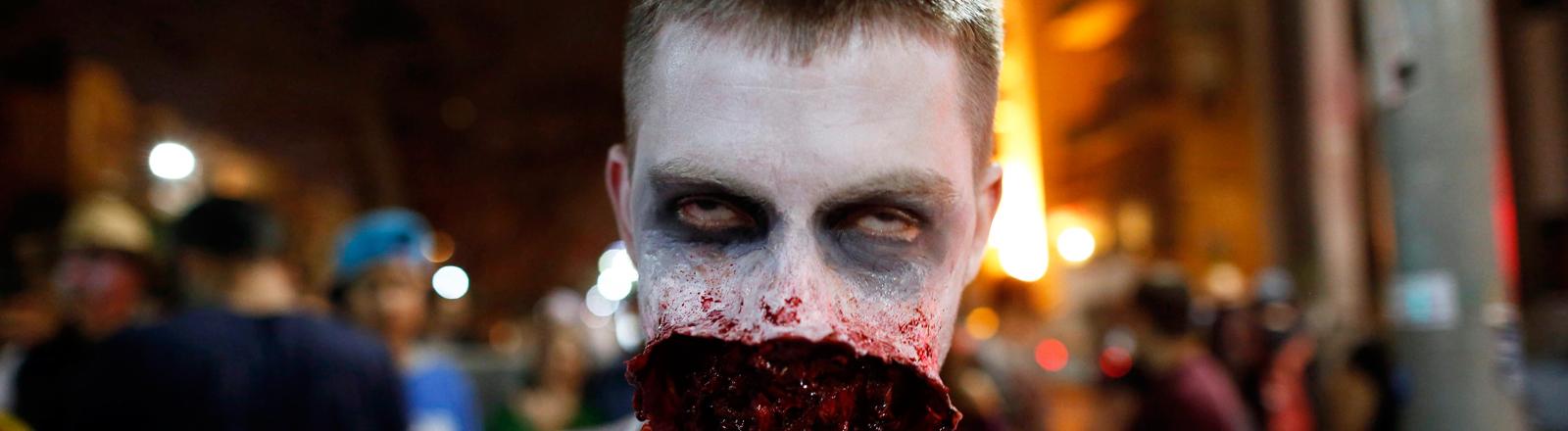 Zombie bei Nacht