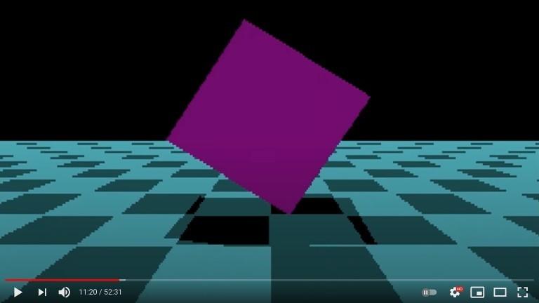 Ein Screenshot aus einem Demo.