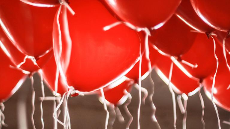 Rote Luftballons.