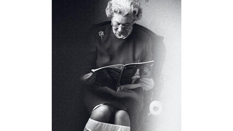 """""""Paparazzi!"""" Ausstellung Kunsthalle Schirn Frankfurt: Queen on the Loo, 2003"""