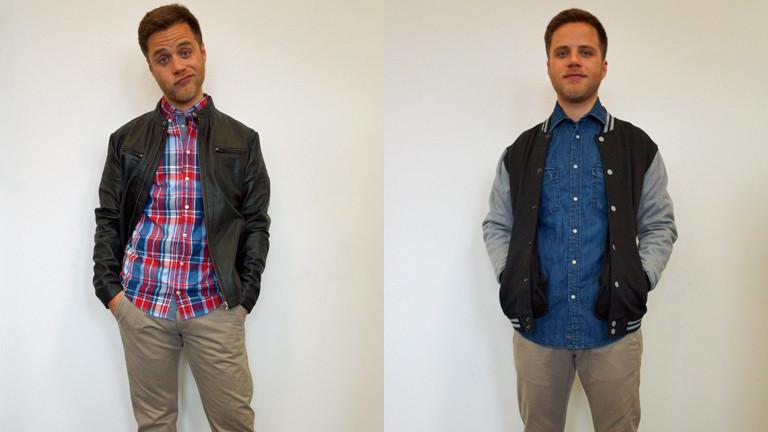 DRadio-Wissen-Reporter Panajotis Gavrilis probiert seine neuen Klamotten aus - ist aber nur mäßig zufrieden.