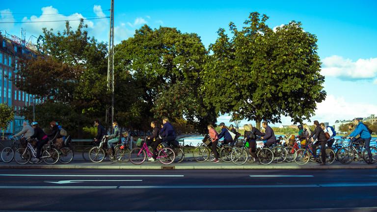 Das Paradies für Radfahrer auf Erden: Kopenhagen!
