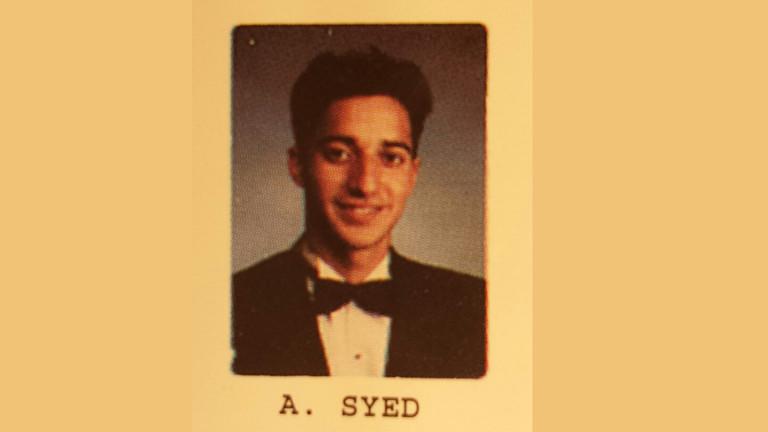 Passfoto von Adnan Syed