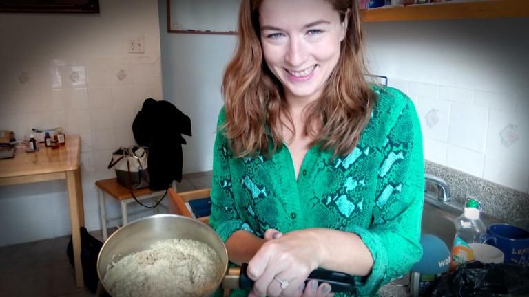 Rebecca Harrington kocht Diät-Rezepte von Prominenten nach, die meist weder appetitlich aussehen noch lecker schmecken.