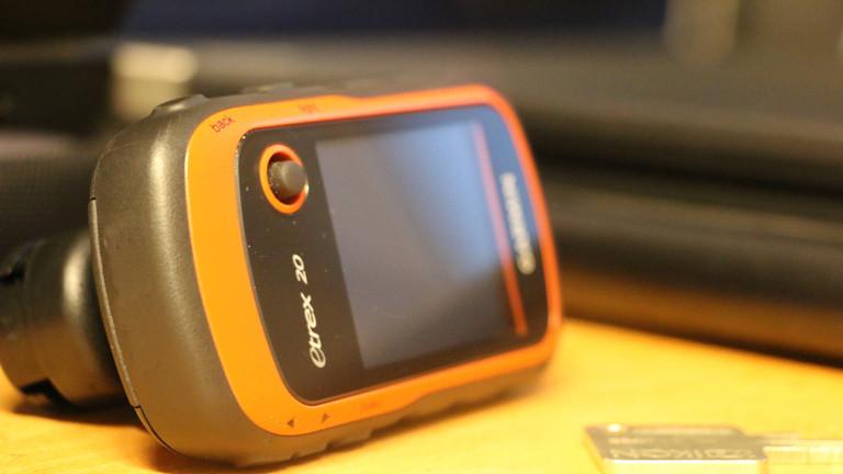 Das Werkzeug der Mapper: Ein GPS-Geträt