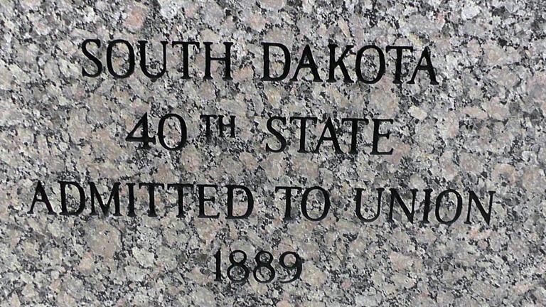 Der Bundesstaat South Dakota wurde 1889 gegründet.