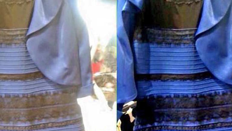 Dressgate Welche Farbe Hat Das Kleid Dlf Nova
