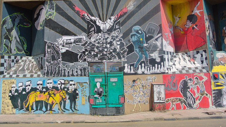 """The state vs. Freedom aus """"Walls of Freedom"""""""