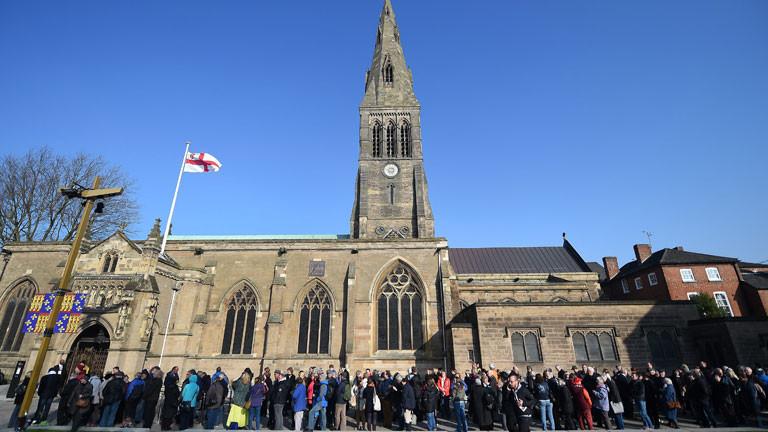 In der Kathedrale von Leicester findet der Monarch nach 530 Jahren seine letzte Ruhestätte.