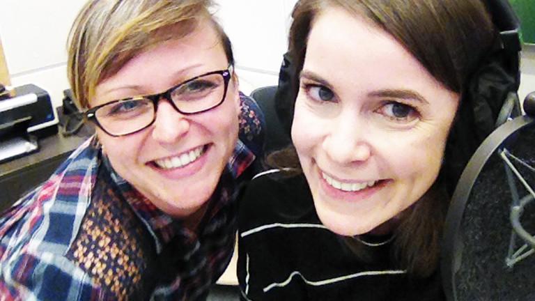 Selfie von Kaline und Kerstin