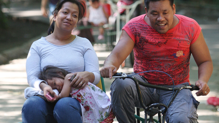 Philippinische Familie