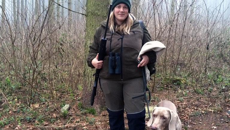Barbara Rottengruber ist Jägerin