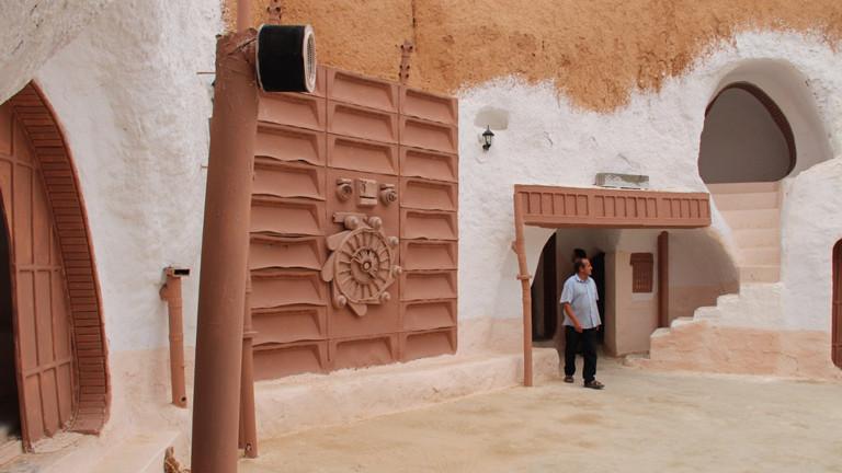Mesoud Barshid ist heute meist alleine in seinem Hotel Sidi Driss in Matmata