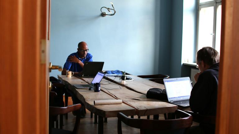 Coworking im Coconat in Brandenburg.