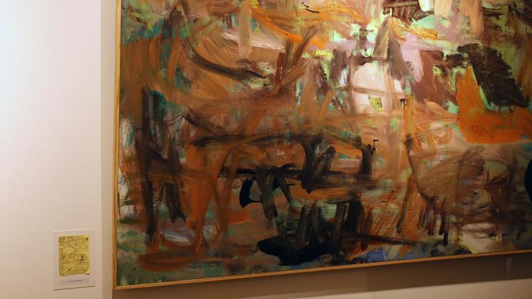 Gemälde von Jan Matthiesen nach einer Vorlage eines Einkaufszettels