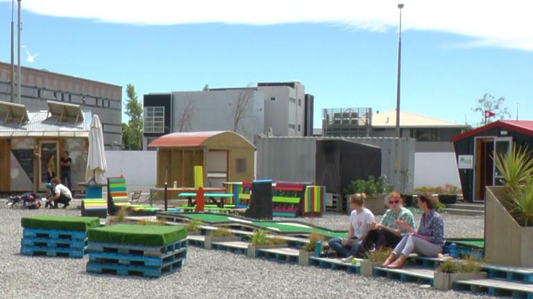 Neuseeland Christchurch Update: Neuseeland: Kreativer Wiederaufbau In Christchurch · Dlf Nova