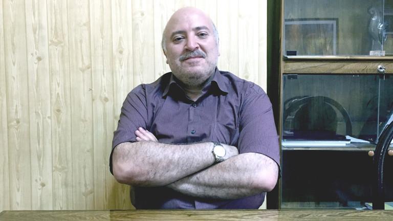 Ali Rohani ist Direktor der Filmabteilung an der Soore-Universität und laviert sich um das Thema Zensur herum.