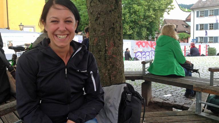 Tanja Güntert, hatte mit 16 Krebs