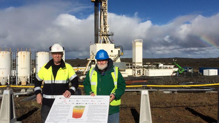 Gudmundur Fridleifsson ist Chefgeologe des größten isländischen Energieunternehmens HS Orca und Leiter des Iceland Deep Drilling Project (mit Wilfred Elders).