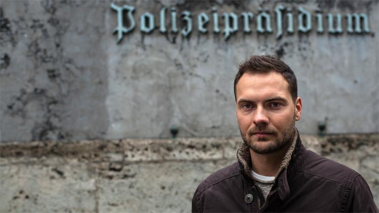 Polizeiobermeister Raphael Eckert.