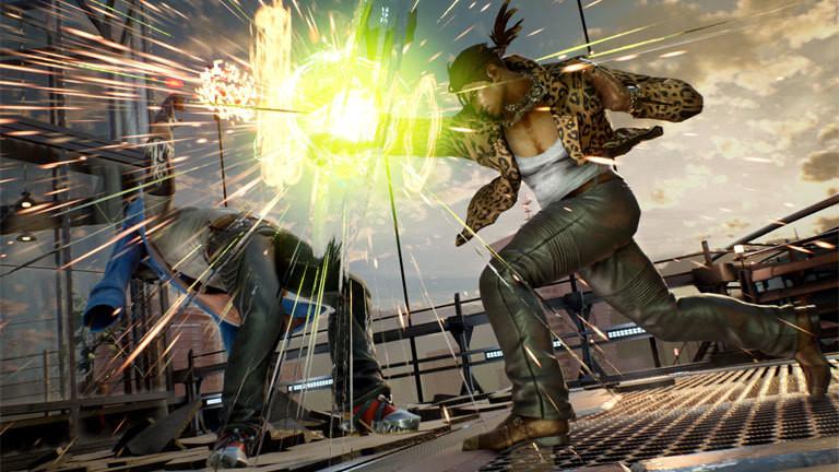 Szene aus dem Spiel Tekken 7