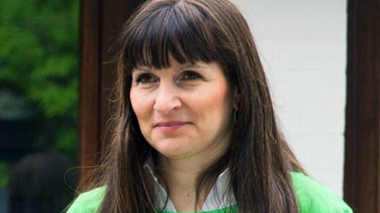 Die 1. Vorsitzenden des Hamburger Tierschutzvereins Sandra Gulla.