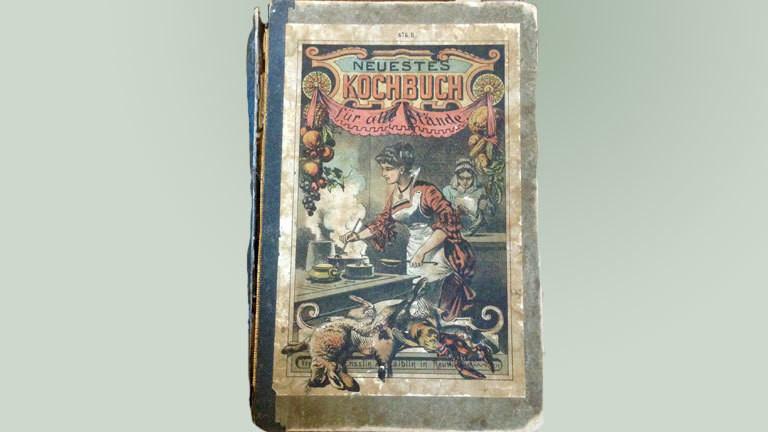 """""""Neuestes Kochbuch für alle Stände"""" von 1905"""
